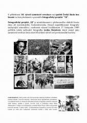 """Výstava fotografického projektu Lenky Hatašové """"30"""""""